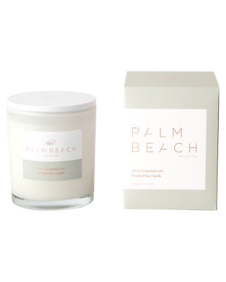 New Palm Beach Collection Clove And Sandalwood Candle Natural