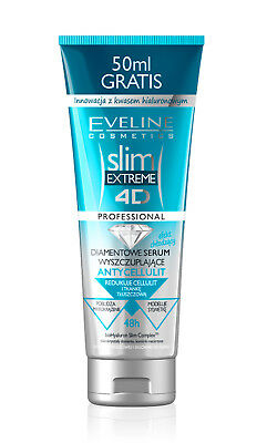 Eveline Slim Extreme 4D Diamond Slimming Serum Anti-Cellulite Hyaluronic Acid