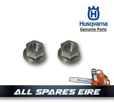 Genuine Husqvarna Chainsaw Guide Bar Cover Mounting Nuts (Fit Most Husky Saws)