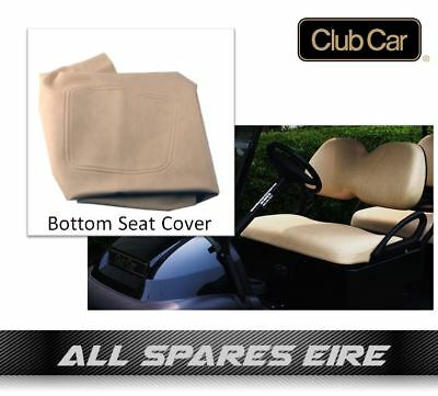 Club Car Precedent Golf Cart Buggy Factory Replacement Beige Bottom Seat Cover