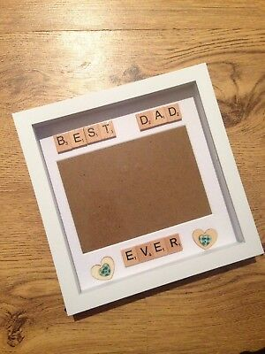 Fathers Day Box Frame Handmade Gift Dad Daddy Birthday Present