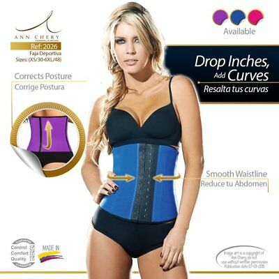 Faja Original Ann Cherry Colombiana Reductora Cinturilla Womens Waist Trainer