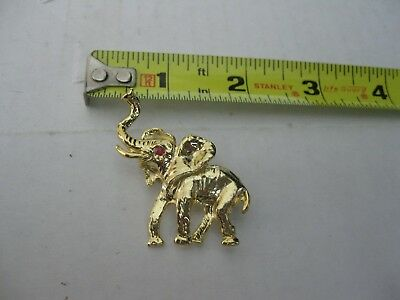 Elephant Pin Brooch
