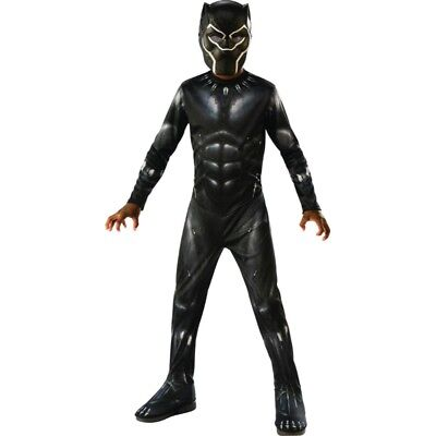 Black Panther Classic Child Costume, 641046, Rubies
