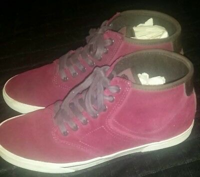 278aa5c39b GRAVIS DYLAN RIEDER Mid Top Wine Suede Size 9 huf dylan rieder supreme RARE  -  49.00