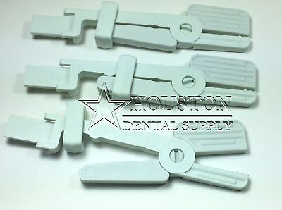 Dental SENSOR SNAP Holder Clip Hanger LIGHT GRAY 3 Pcs Autoclavable Sensor X-Ray