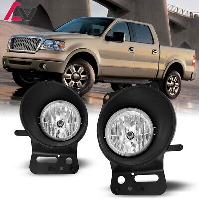 For Ford F-150 06-08 Clear Lens Pair Bumper Fog Light Lamp OE Replacement DOT