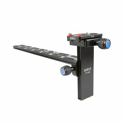 SIRUI TY-350 Lens Rail -Inch and 3/8-Inch / Rail Length 35 cm / Weight 0.45 k...