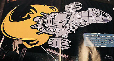 SERENITY BEACH TOWEL Firefly Loot Cargo Crate March 2018 EXCLUSIVE