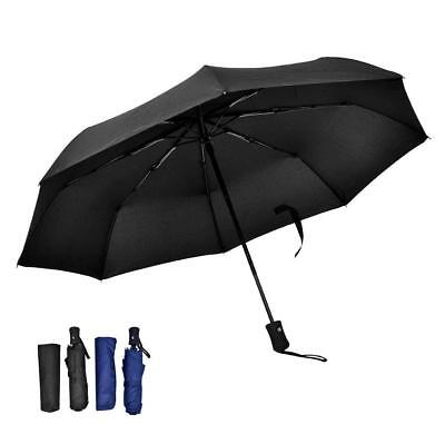 Umbrella Windproof Repel Water Folding and Compact Travel Auto Open/Close ST