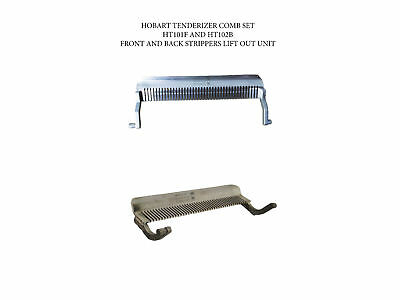 Tenderizer Stripper Comb Set Front and Back Fits Hobart 400, 401, 403 Ships Free