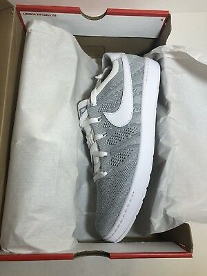 New Mens Nike Zoom Tennis Classic Ultra FK Flyknit RF Shoes 830704-002 Grey  11