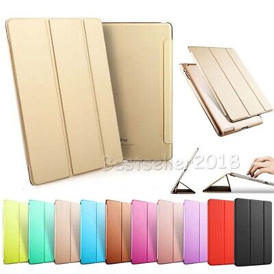 "Magnetic Leather Smart Cover Case For iPad mini Air Pro 2 3 4 5 6 9.7"" 2018/2017"
