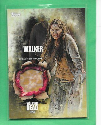 2016 TOPPS The Walking Dead Season 5 Relic Card Walker - Clothing