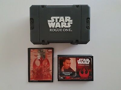Star Wars Rogue One Topps Trading Cards With Ammo Case
