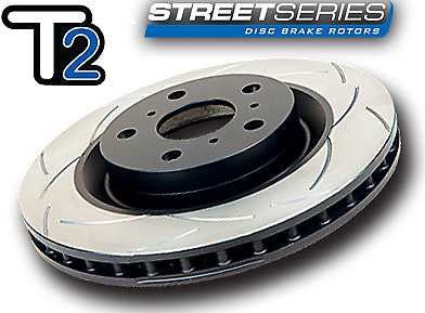 Commodore Vt Vx Vy Vz Front Rear Dba T2 Slotted Rotors Performance Pads Full Set