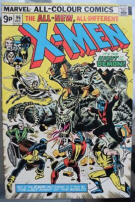UNCANNY X MEN (vol 1) # 96. DEC 1975.
