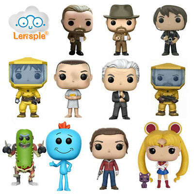 Funko POP Stranger Things Sailor Moon And Rick And Morty Action Figure Toy