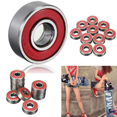Ball Bearing Deep Groove Carbon Steel For Skateboard Roller Blade 10PCS 608zz