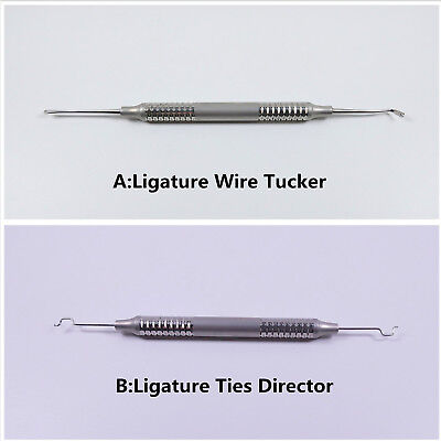 1Pc Dental Ligature Tucker/Director/Scaler/Applicator Orthodontic Arch Wire Ties