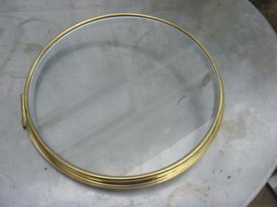 10 Inch Spun Bezel With Flat Glass Max Outer Diameter 10.5 Inches