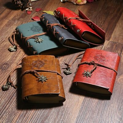 Faux Leather Pirate style Vintage Leather Notebook Diary Sketchbook Journal Book