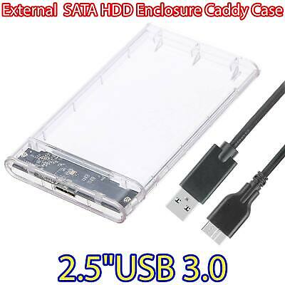 USB 3.0 to SATA Hard Drive Enclosure Caddy Case For 2.5″ Inch HDD / SSD External