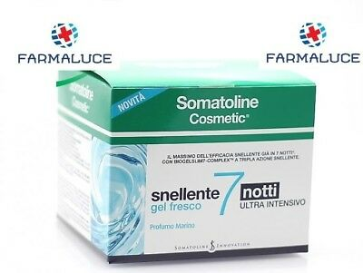 Somatoline Cosmetic Gel Fresco Snellente 7 Notti Ultra Intensivo 400 Ml Offerta