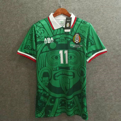 b139515c5 MEXICO 1998 WORLD Cup Retro Soccer Jersey -  32.00