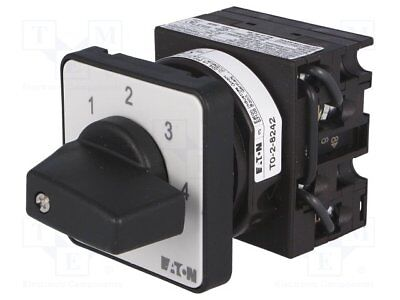 T0-2-8242/E Switch step cam switch 5-position 20A 0-1-2-3-4 6.5kW EATON ELECTRIC