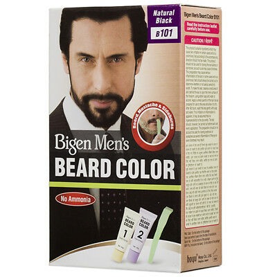 Bigen Men's Beard Color B101 B102 B103 (20g + 20g) (Free Shipping)