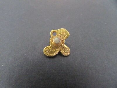 NILE  Ancient Egyptian Gold Amulet ca 300 BC
