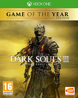 Dark Souls III The Fire Fades GOTY Game Of The Year Edition XBOX ONE NAMCO