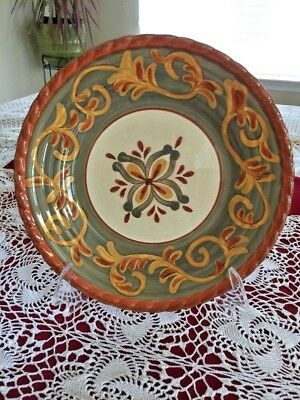 Tuscan Countryside Sienna Terracotta By Artimino Decorative Plate Italy