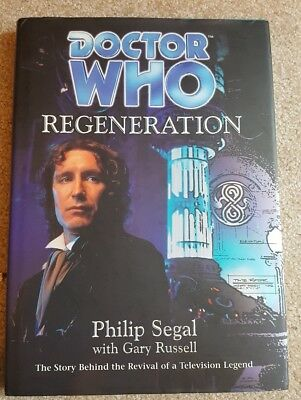 Doctor Who 8th Doctor Hardcover book RARE! Paul McGann