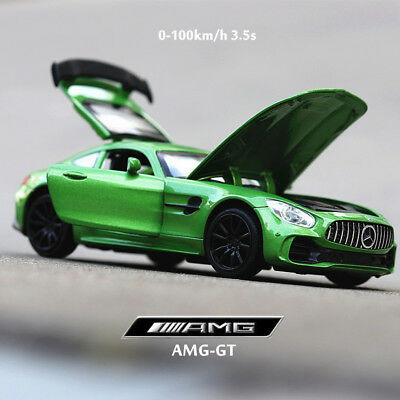 Mercedes-Benz AMG-GT Sport Model Cars 1:32 Sound&Light Toys Gifts Alloy Diecast