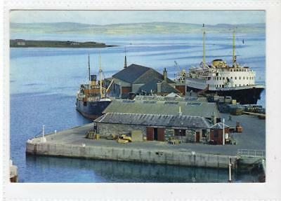 THE HARBOUR, KIRKWALL: Orkney postcard (C34580)