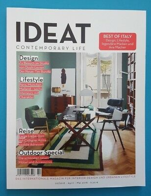 IDEAT Contemporary Life 02/2018 April-Mai ungelesen 1A abs. TOP