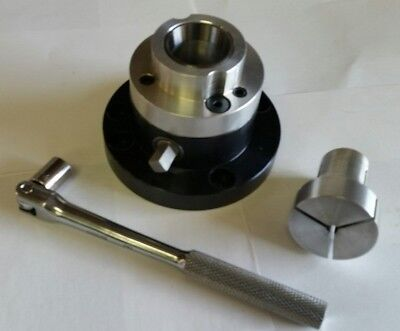 Single Station 5C Manual Collet Closer For Oversize Heads