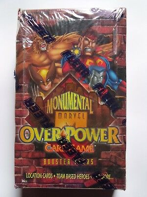 Marvel OverPower Monumental Factory Sealed Box - 36 Boosters
