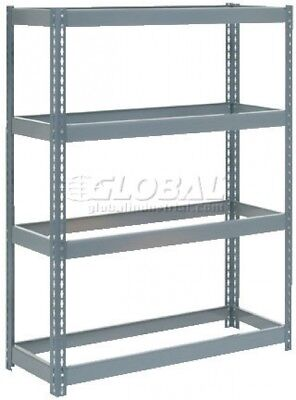 Extra Heavy Duty Shelving 48'W X 24'D X 60'H With 4 Shelves, No Deck