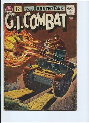 G. I. Combat 91 - Vg- 3.5 - 1St Cover Appearance Of The Haunted Tank (1962)