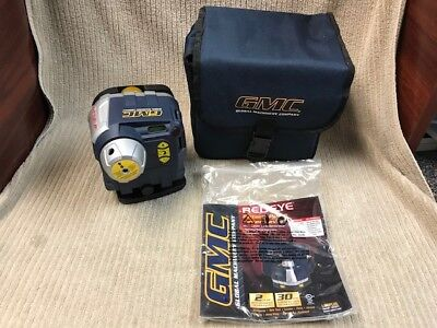 GMC GENERAL MACHINERY COMPANY REDEYE ROTARY PULSE LASER LEVEL Free Shipping!!