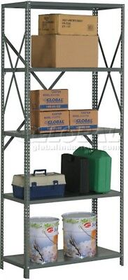 Steel Shelving 20 Ga 48'Wx24'Dx85'H Open Clip Stle 5 Shelf