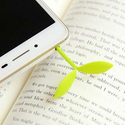 Kawaii Supplies Book Office Students Sprout Leaves School Stationery Bookmark