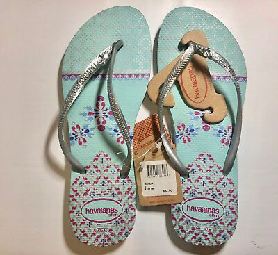 3b51b6c4cfb2aa Havaianas Slim Cool Ice Blue Flip Flops Authentic Brazilian VARIOUS SIZE TO  CHOO 1 of 12FREE Shipping ...
