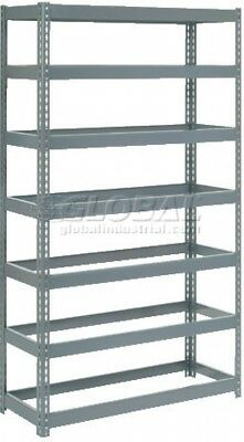 Extra Heavy Duty Shelving 48'W X 24'D X 96'H With 7 Shelves, No Deck