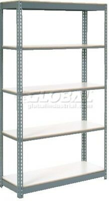 Extra Heavy Duty Shelving 48'W X 18'D X 84'H With 5 Shelves, 1500 Lbs. Capacity