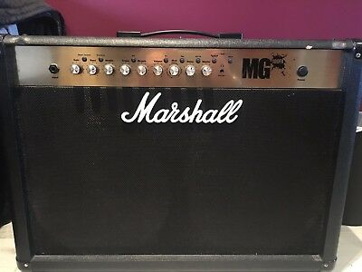 marshall mg100fx 2x12 combo amp 179 95 picclick uk rh picclick co uk marshall mg 100 fx owner's manual