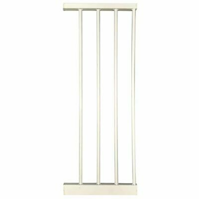 Noma Safety Gate Extension Easy Pressure Fit 28 cm Metal White Accessory 93972